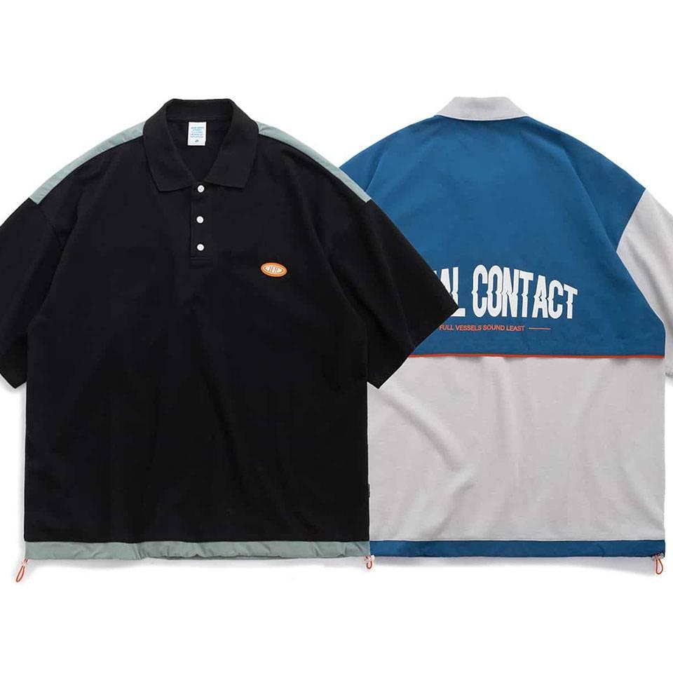 เสื้อโปโลโอเวอร์ไซส์ SOCIAL CONTACT by inflation