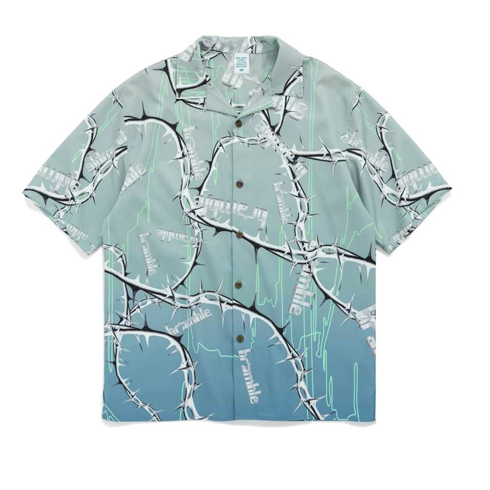 เสื้อฮาวายพิมพ์ลายแนวสตรีท by inflation