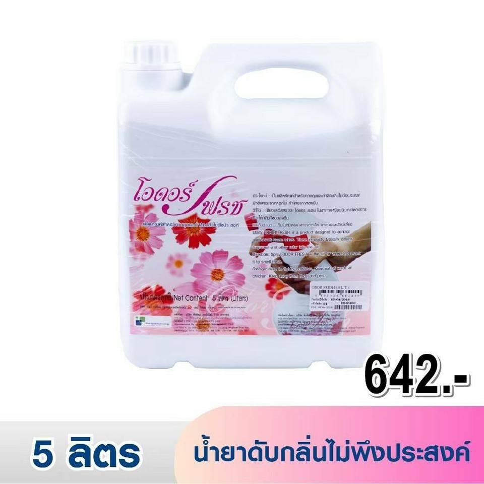 โอดอร์ เฟรช น้ำยาดับกลิ่นไม่พึงประสงค์ (5 ลิตร)